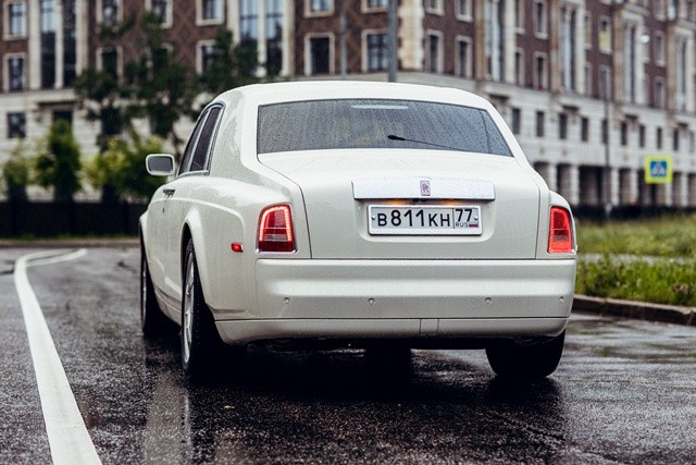 Прокат Rolls-Royce Phantom в Спб