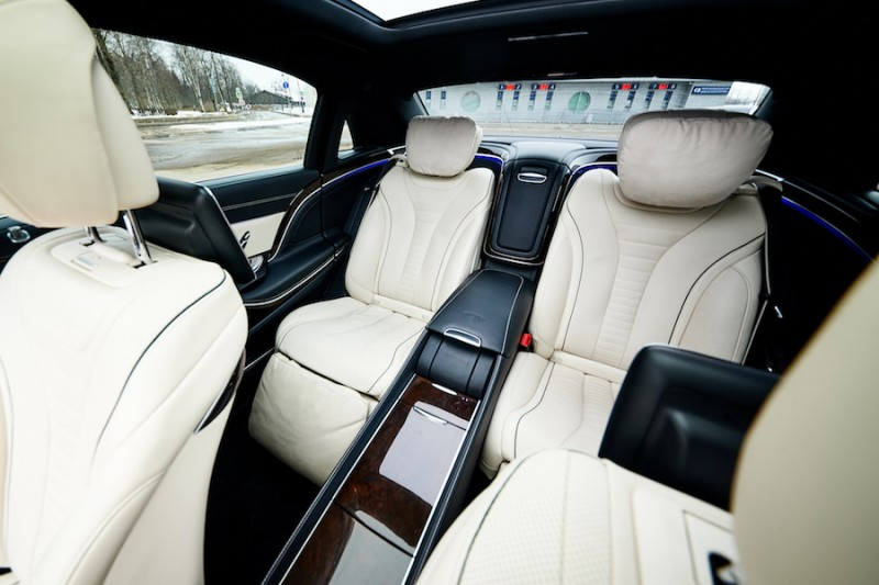 Цена аренды Mercedes-Maybach  white interior