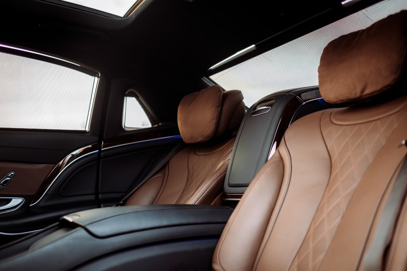 Mercedes-Maybach Brown interior