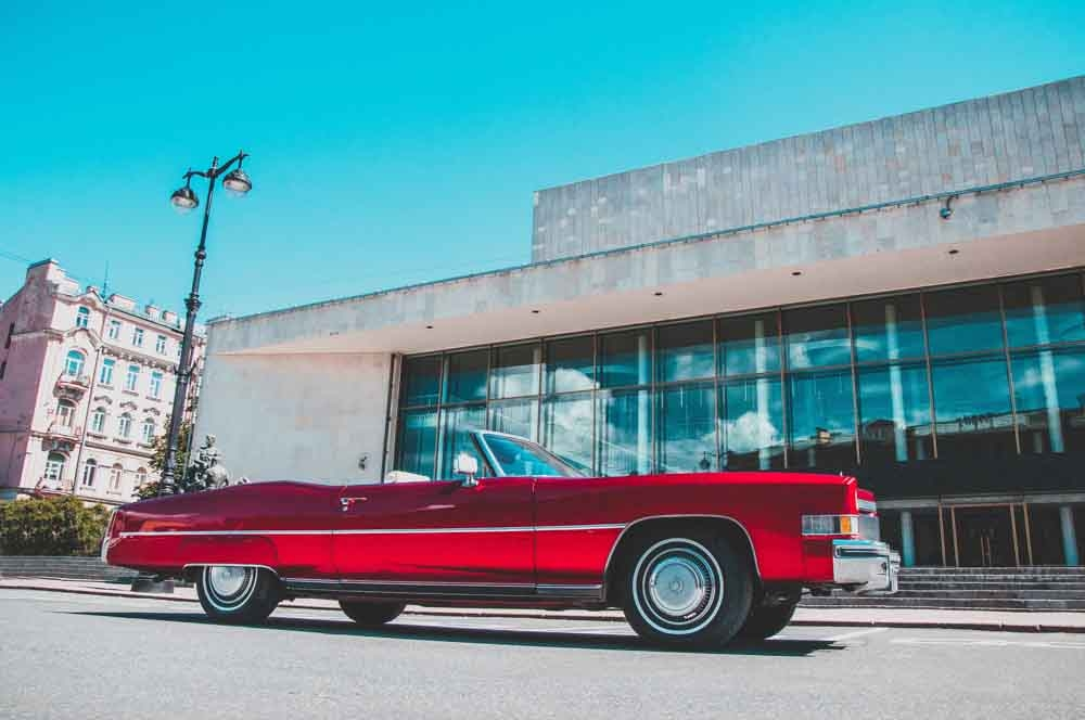 Cadillac Eldorado red brilliant 1971 напрокат