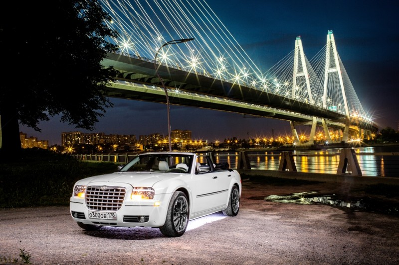Аренда Chrysler 300c cabrio в Санкт-Петербурге