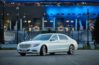 Mercedes-Maybach s 500 white